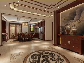 奢华古典中式风格玄关设计