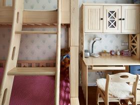 2016简约质朴儿童房装修布置