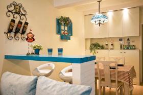 地中海式吧台设计案例欣赏