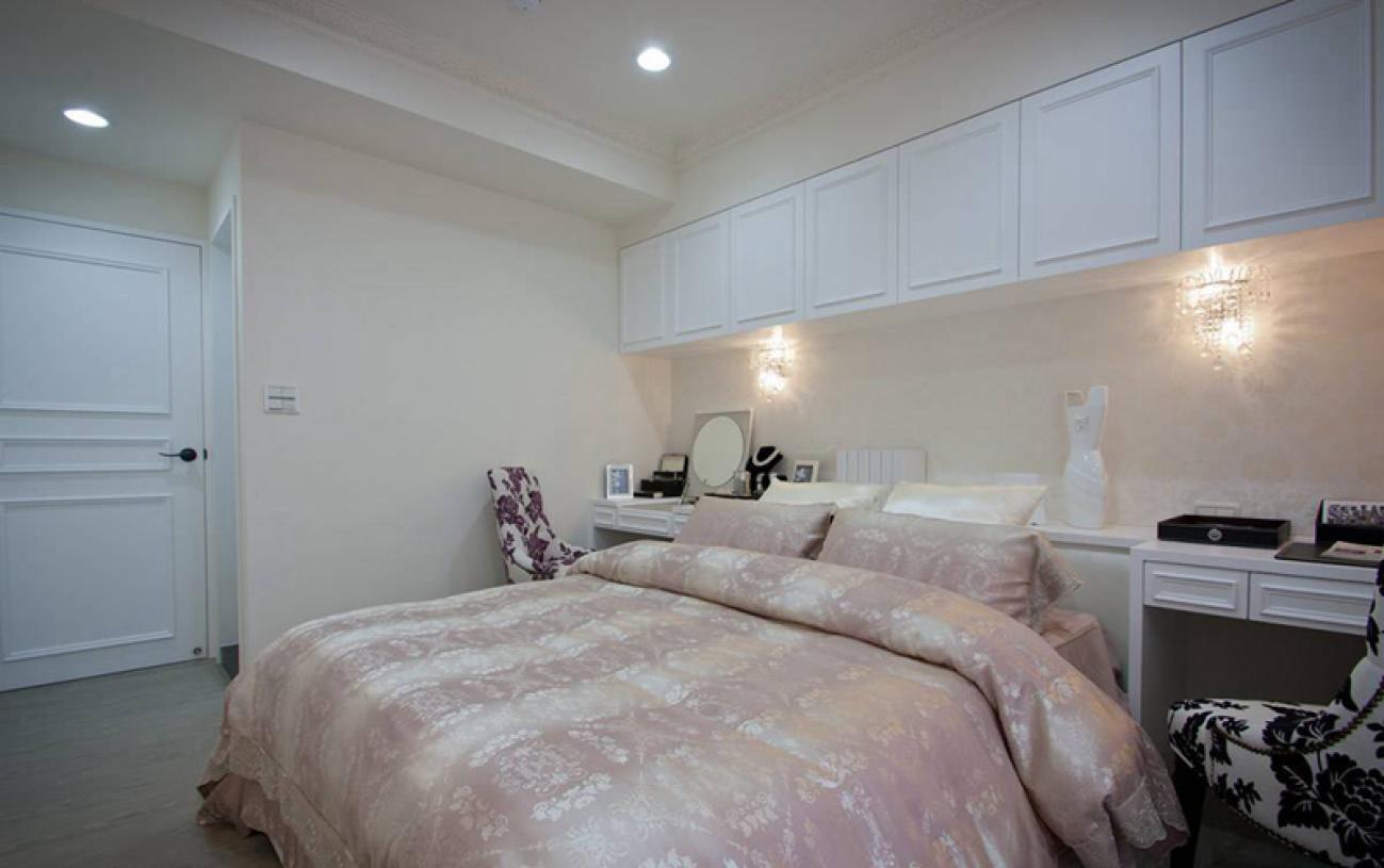 现代新古典风格卧室欣赏