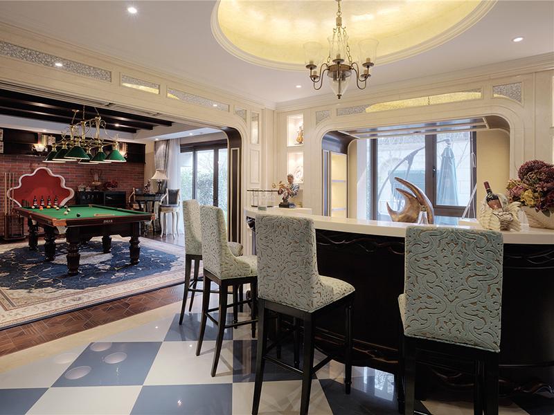 欧式风格别墅吧台设计欣赏