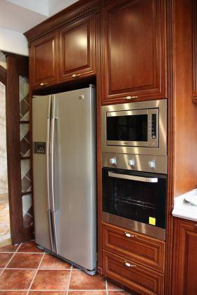 2016中式雅致厨房装修效果图
