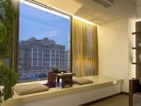 中式风格舒适飘窗装修案例