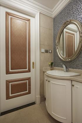 时尚精致新古典主义浴室柜装修欣赏