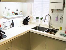 简洁时尚现代厨房装修效果图