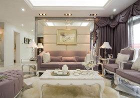 欧式奢华布艺沙发美图