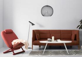 超现代简约布艺沙发美图