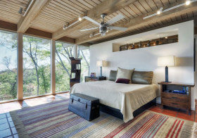混搭原木自然卧室美图