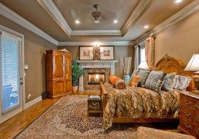 美式奢华复古卧室欣赏