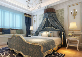 欧式奢华典雅卧室欣赏