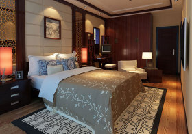 中式复古优美卧室欣赏