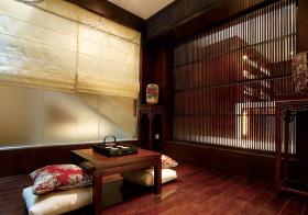 中式复古榻榻米设计