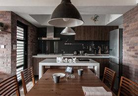 轻工业木质厨房美图