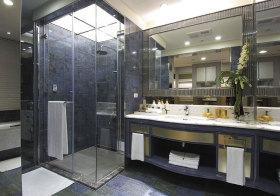 现代浅蓝卫生间欣赏
