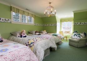 美式多床儿童房欣赏