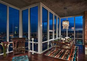 轻工业夜景阳台设计