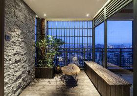 轻工业自然森林阳台欣赏