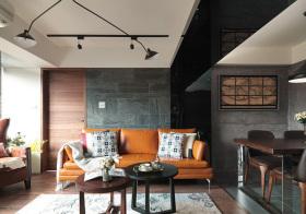 混搭大理石沙发背景墙美图