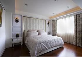 欧式奢华卧室背景墙欣赏