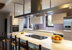 现代直型厨房美图