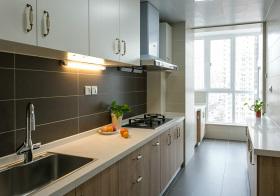 现代简约直型厨房欣赏