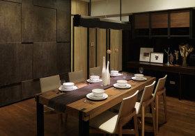宜家原木餐厅美图