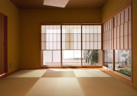 日式客厅榻榻米设计