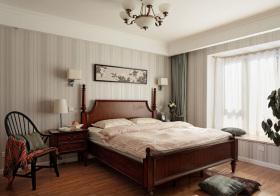 美式典雅卧室效果图