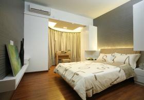现代简单卧室欣赏