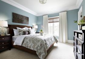 美式传统卧室美图