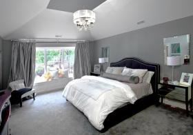 混搭素色卧室设计