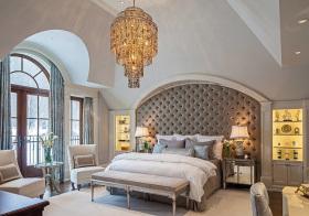 欧式大气空旷卧室欣赏