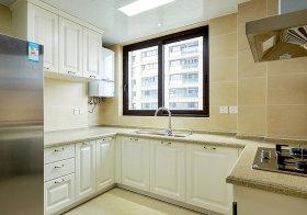 简欧公寓厨房实景欣赏