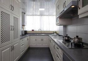 美式U型厨房美图
