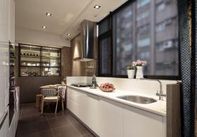 混搭小面积厨房实景