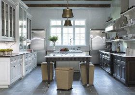 美式阳光厨房美图