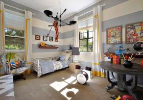 美式彩色儿童房设计