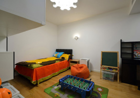 欧式简约儿童房造型