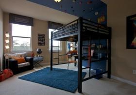美式特色儿童房实景