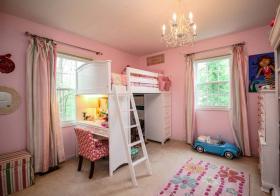 欧式楼梯儿童房设计