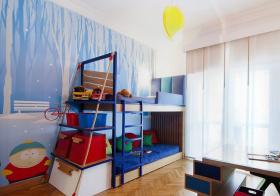 宜家创意儿童房实景