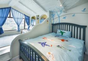 地中海造型儿童房美图