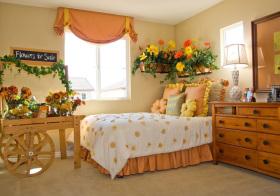 美式小雏菊儿童房设计