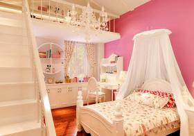 欧式公主房儿童房欣赏