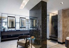 现代大理石卫生间设计