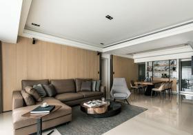 宜家木质客厅欣赏