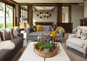 美式森系客厅设计