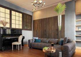 宜家木质客厅设计