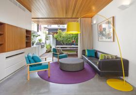 宜家彩色客厅设计