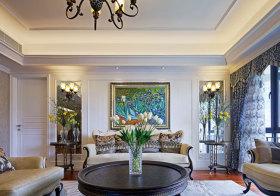 欧式典雅客厅设计